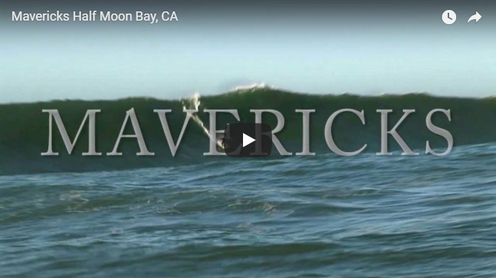 Mavericks In Half Moon Bay, California - Click To Watch Video On YouTube