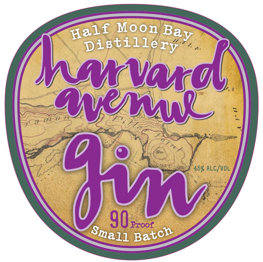 Harvard Avenue Gin Crafted By Half Moon Bay Distillery
