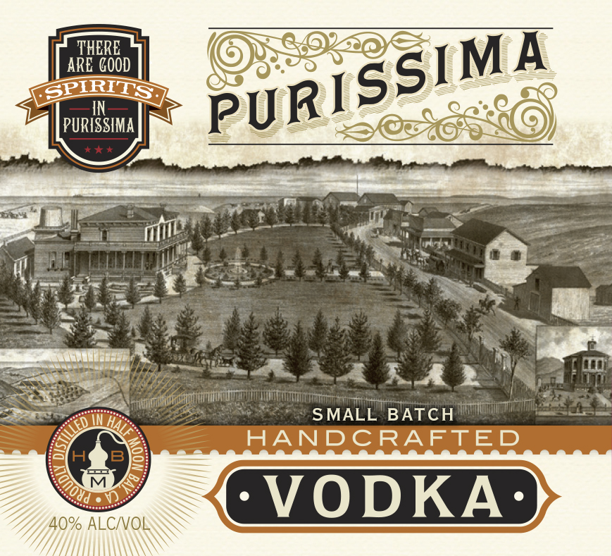 Purissima Vodka Crafted By Half Moon Bay Distillery